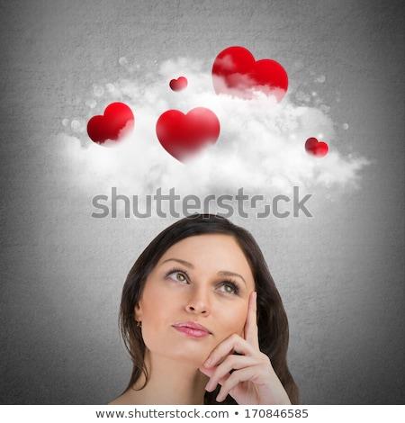 美人 · 少女 · セックス · 愛 · セクシー · 目 - ストックフォト © hasloo