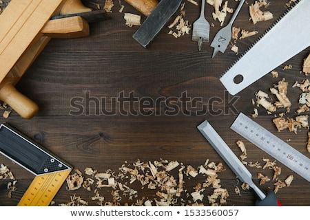 handsaw from top stock photo © rob_stark