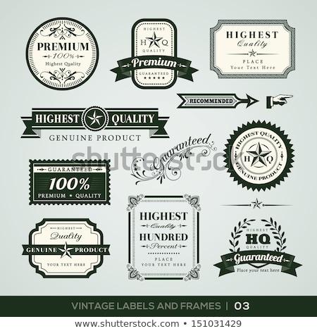 Best Quality Green Vector Icon Design Stock photo © rizwanali3d