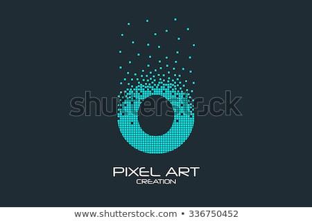 vetor · logotipo · voar · esfera · computador · internet - foto stock © netkov1