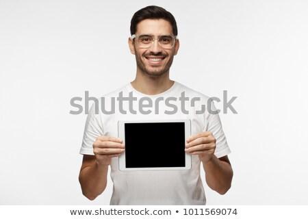 ハンサム ヒップスター 白 幸せ ストックフォト © wavebreak_media
