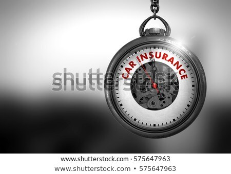 Car Service - Red Text on the Watch Face. 3D Illustration. Stock photo © tashatuvango