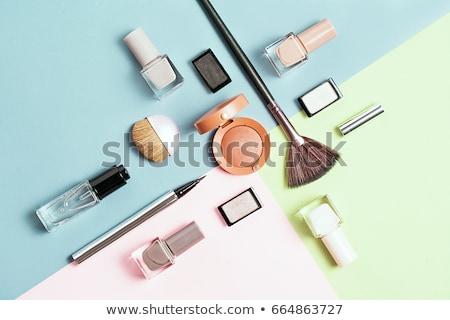 sok · kozmetika · izolált · fehér · rózsa · divat - stock fotó © caimacanul