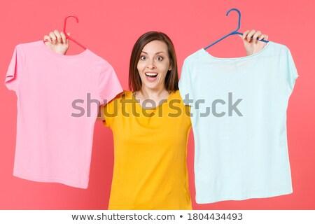 White coat women_housekeeping Stock photo © toyotoyo