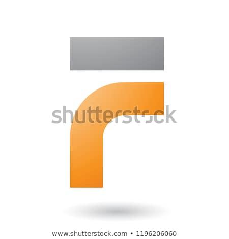 手紙 · 黒 · オレンジ · ロゴタイプ · シンボル · にログイン - ストックフォト © cidepix