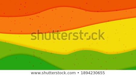 Elegáns piros rétegek üzlet papír absztrakt Stock fotó © SArts