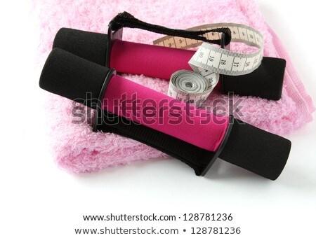 Manejar cinta métrica toalla suave correa Foto stock © Melnyk