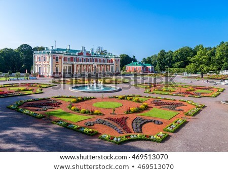 Paleis Tallinn Estland barok Rusland groot Stockfoto © borisb17