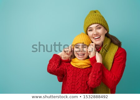 winter 2 in green stock photo © marinini