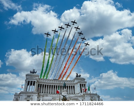 Monument to Vittorio Emanuele 2nd Stock photo © prill