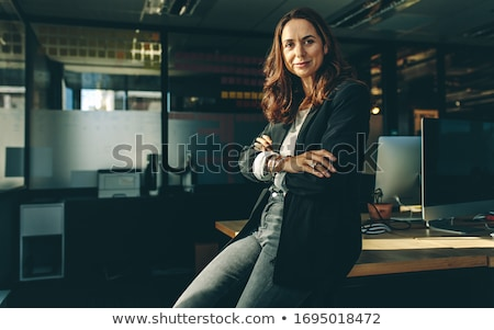 Portrait of an entrepreneur in office Stock photo © photography33