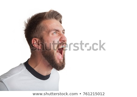 Man shouting Stock photo © photography33