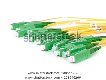 Fiber Optic Coupler With Sc Connectors Zdjęcia stock © Artush