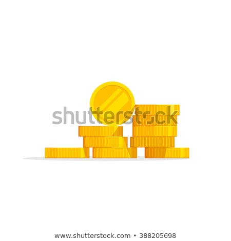 one euro and dollar coins vector illustration stock photo © konturvid