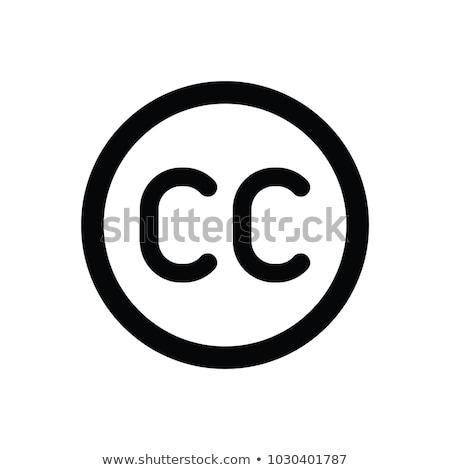 Creative Commons Icon Stock photo © unkreatives