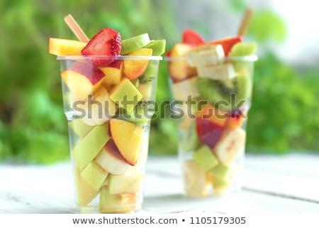 körte · saláta · étel · étterem · zöldségek · szakács - stock fotó © gemenacom