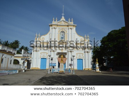 famous cathedral of the immaculate conception Stock photo © meinzahn
