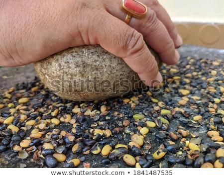 Spice grinding machine Stock photo © bdspn