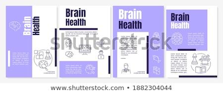 Health Kit Violet Vector Icon Design Stock photo © rizwanali3d