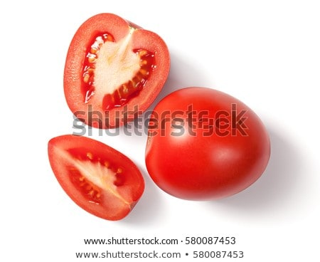 Red plum tomato halves Stock photo © Digifoodstock