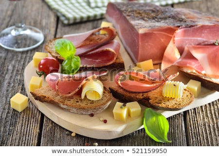 South Tyrolean speck Stock photo © Digifoodstock