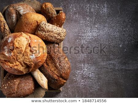 brood · brood · houten · voedsel · vers - stockfoto © digifoodstock