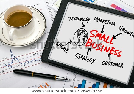 Small business vision concept Stock photo © stevanovicigor