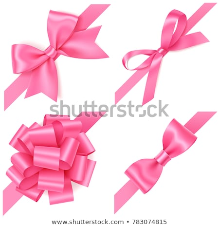 pink gift bow stock photo © luissantos84