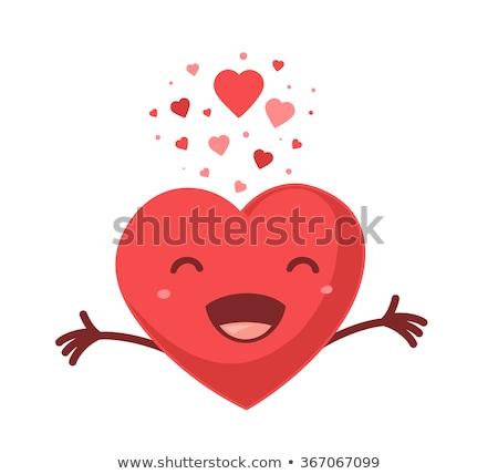 Cartoon Heart Smiling Stock photo © cthoman