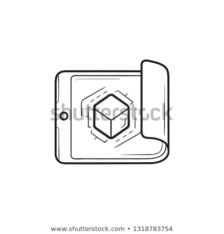 vector · logo · video · abstract · film - stockfoto © rastudio