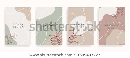vajilla · azul · tela · establecer · placas - foto stock © neirfy
