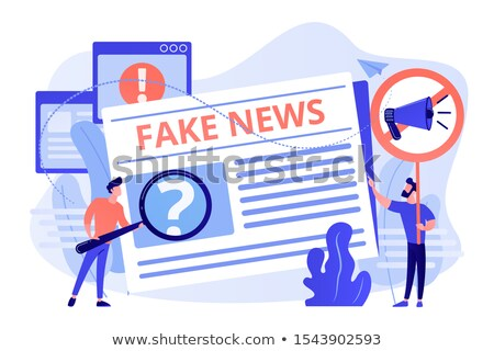 False Narrative Stock photo © Lightsource