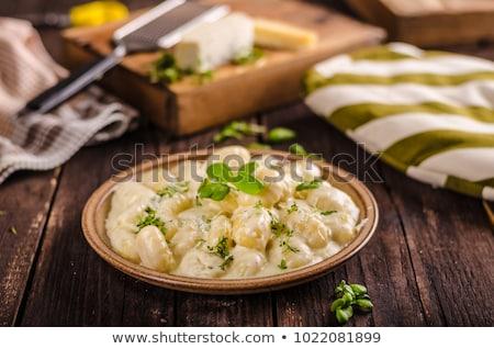 Eigengemaakt parmezaan kip heerlijk maaltijd vers Stockfoto © Peteer