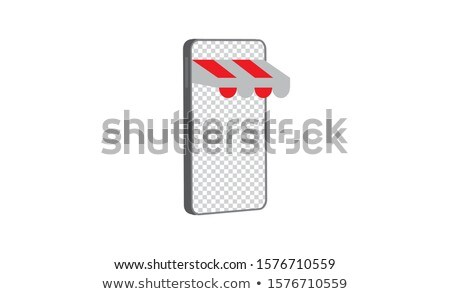 Mobile based marketplace concept vector illustration. Stock photo © RAStudio