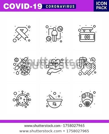 Kanker menselijke ziekte communie vector Stockfoto © pikepicture