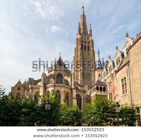 Церкви старый город дерево город путешествия Сток-фото © neirfy