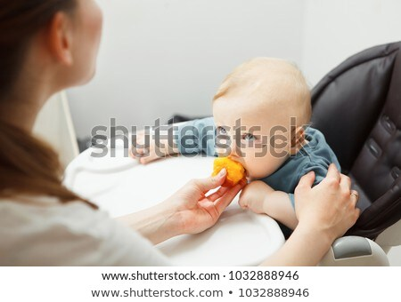 bebek · yüz · kırmızı · yanak · göz · arka · plan - stok fotoğraf © mikko