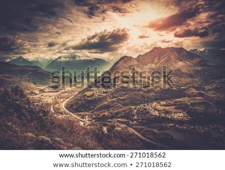 山 · 風景 · パノラマ · 森林 · プラハ · ツリー - ストックフォト © nejron