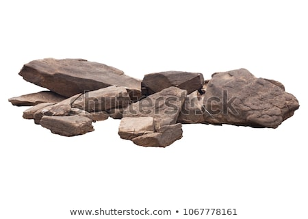 Pile of stones isolated  Stock photo © mady70