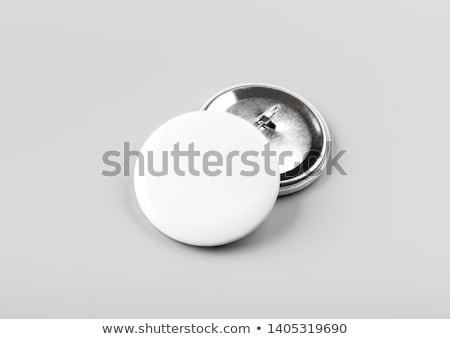 Knop witte 3d render technologie sleutel zwarte Stockfoto © AptTone