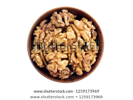bowl of walnut Stock photo © M-studio