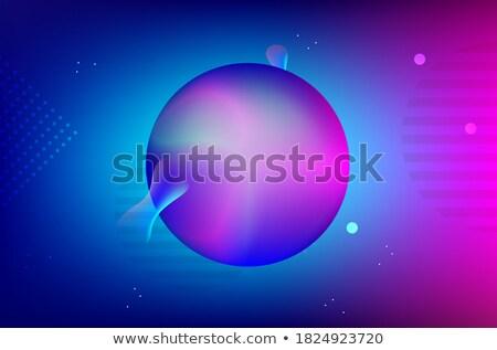 マゼンタ 未来的な 球 ベクトル 実例 ストックフォト © cidepix