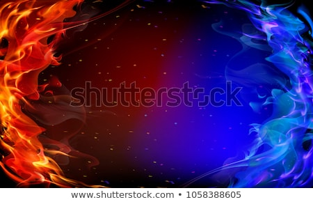 Fire and colored flame Stock photo © Ustofre9