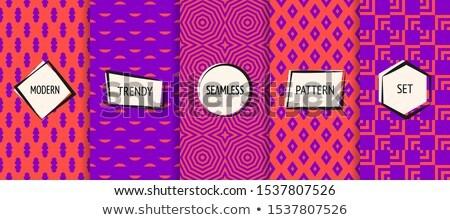 Color vintage cyber sport banner Stok fotoğraf © netkov1
