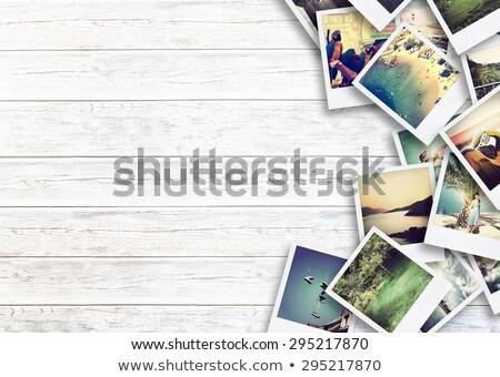 Foto Schönschreibheft Seite öffnen Stift Bild Stock foto © pressmaster