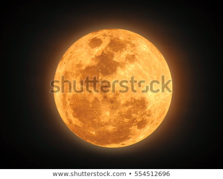 phases of the yellow moon Stock photo © Blue_daemon
