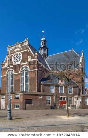 iglesia · Amsterdam · protestante · viaje · arquitectura - foto stock © borisb17