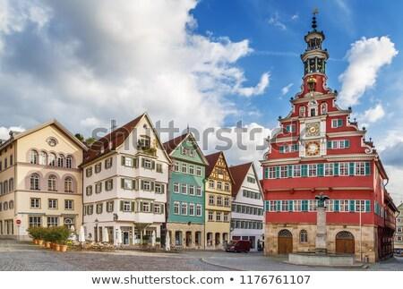 старый город зале Германия красивой здании Сток-фото © borisb17