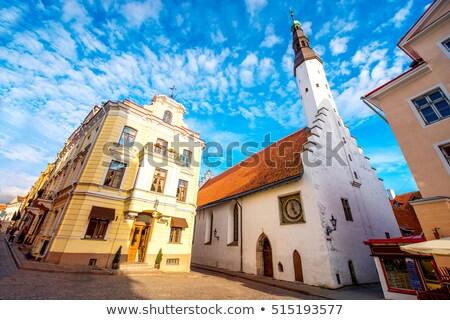 Церкви святой дух Таллин Эстония средневековых старый город Сток-фото © borisb17