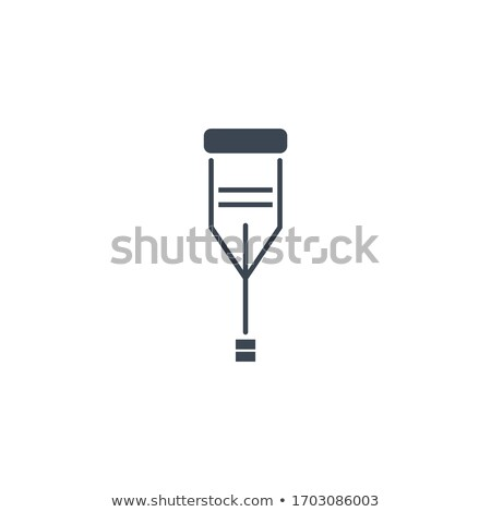 Kula wektora ikona odizolowany biały medycznych Zdjęcia stock © smoki